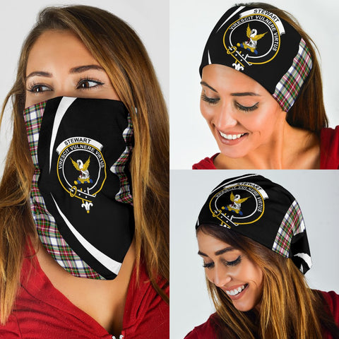 Stewart Dress Modern Tartan Bandana Circle Hj4