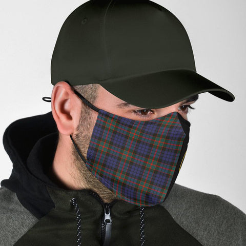 Image of Fletcher of Dunans  Tartan Mouth Mask The Half Th88