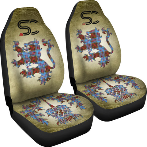 Anderson Modern Tartan Car Seat Cover Lion and Thistle Special Style TH8