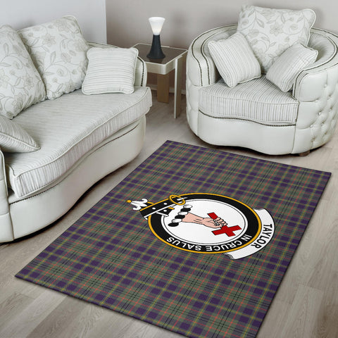 Image of Taylor Clan Tartan Area Rug, Scottish Clans Tartan Area Rug, Scottish Rug, Scotland Area Rug