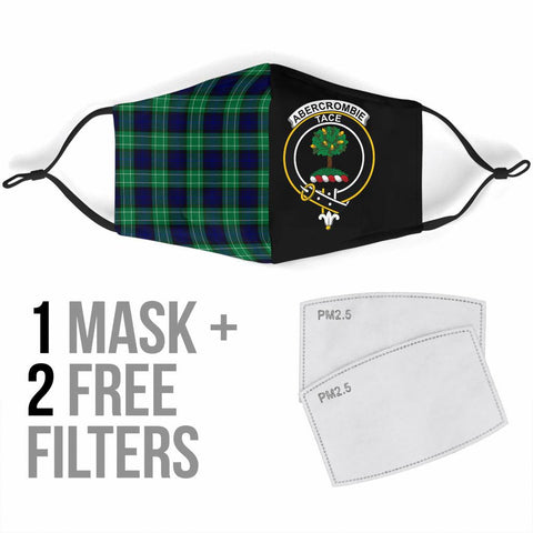Abercrombie  Tartan Mouth Mask The Half Th88
