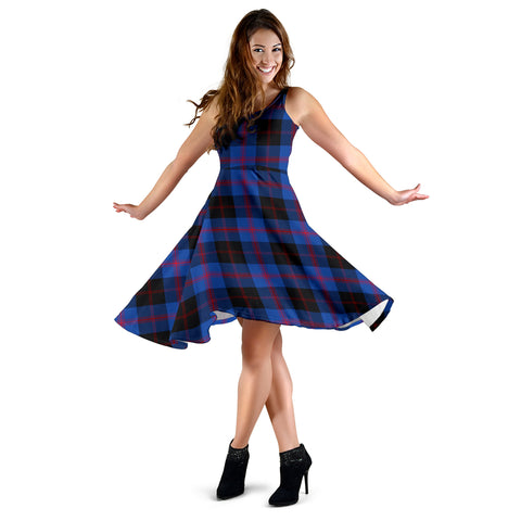 Angus Modern Tartan Dress