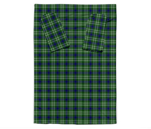 Tweedside District Tartan Clans Sleeve Blanket K6