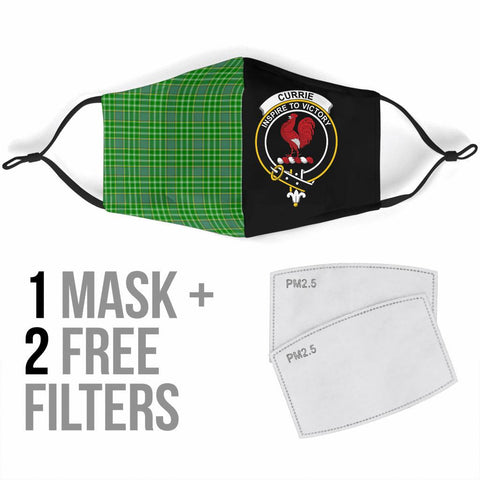 Currie  Tartan Mouth Mask The Half Th88