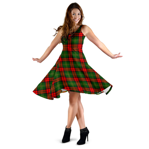 Image of Blackstock Tartan Dress