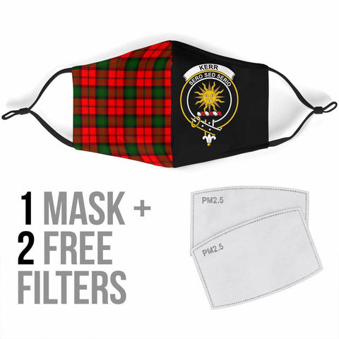 Kerr Modern  Tartan Mouth Mask The Half Th88