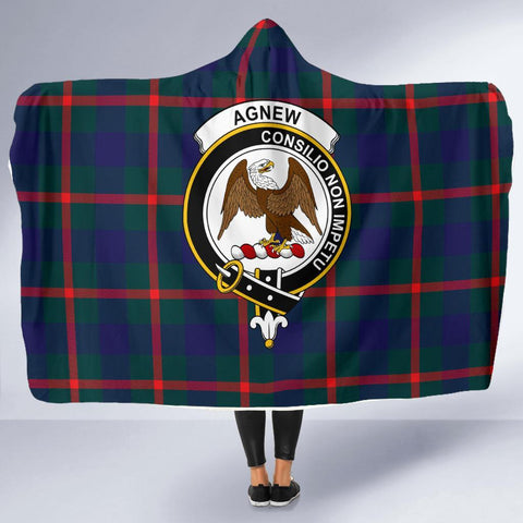 Image of Agnew Clans Tartan Hooded Blanket - BN