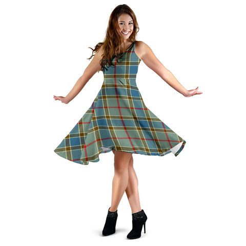 Balfour Blue Tartan Dress