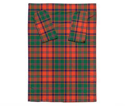 Stewart of Appin Ancient Tartan Clans Sleeve Blanket K6