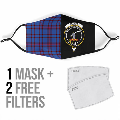 Image of Elliot Modern  Tartan Mouth Mask The Half Th88
