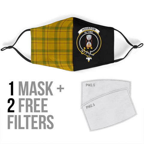 Houston  Tartan Mouth Mask The Half Th88