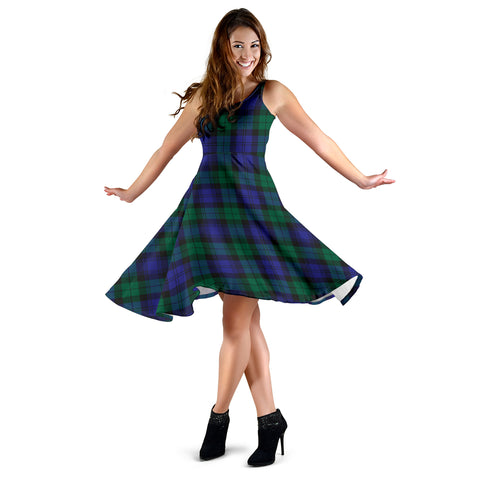 Blackwatch Modern Tartan Dress