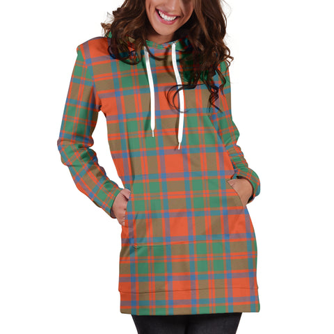 MacKintosh Ancient Tartan Hoodie Dress HJ4