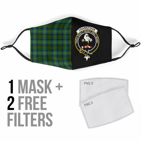 Image of Cranstoun  Tartan Mouth Mask The Half Th88