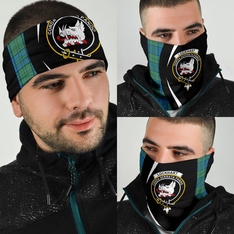 Image of Lockhart Tartan Bandana Circle Hj4
