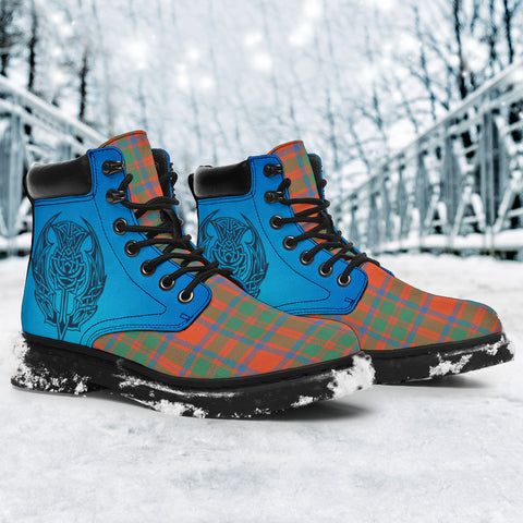 Mackintosh Ancient Tartan All-Season Boots - Celtic Thistle TH8