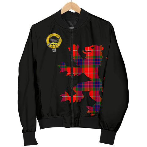 Abernethy Tartan Lion & Thistle Men Jacket