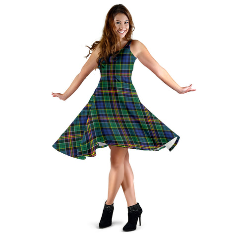 Allison Tartan Dress