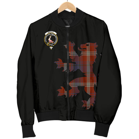 Ainslie Tartan Lion & Thistle Men Jacket