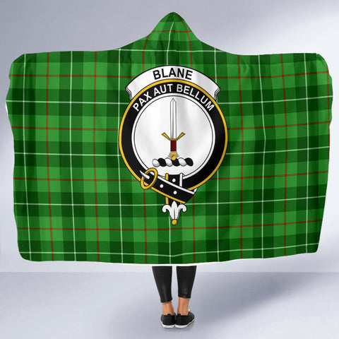 Image of Blane Clans Tartan Hooded Blanket - BN