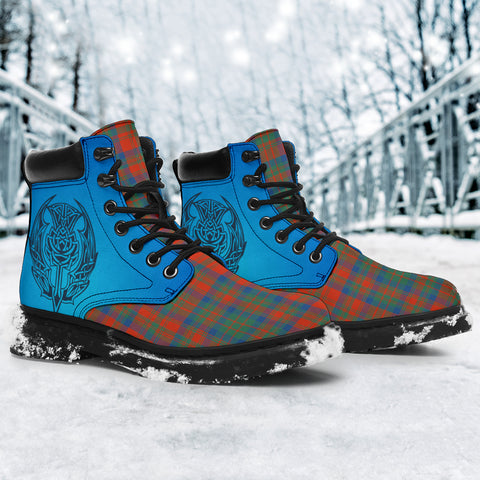 Matheson Ancient Tartan All-Season Boots - Celtic Thistle TH8