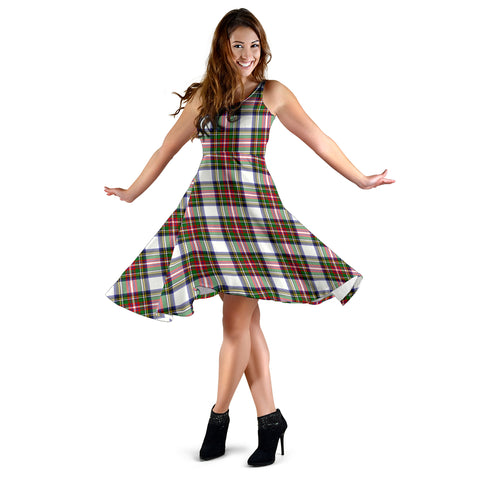 Stewart Dress Modern Tartan Dress