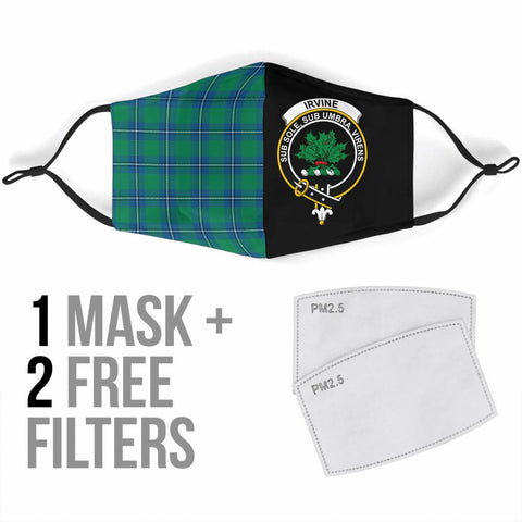 Irvine Ancient  Tartan Mouth Mask The Half Th88