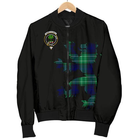 Abercrombie Tartan Lion & Thistle Men Jacket