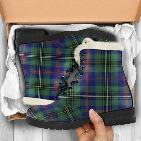 Wood Modern Tartan Shoes