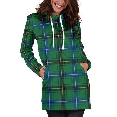 Henderson Ancient  Tartan Hoodie Dress HJ4