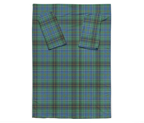 Image of MacInnes Ancient Tartan Clans Sleeve Blanket K6