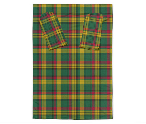 MacMillan Old Ancient Tartan Clans Sleeve Blanket K6