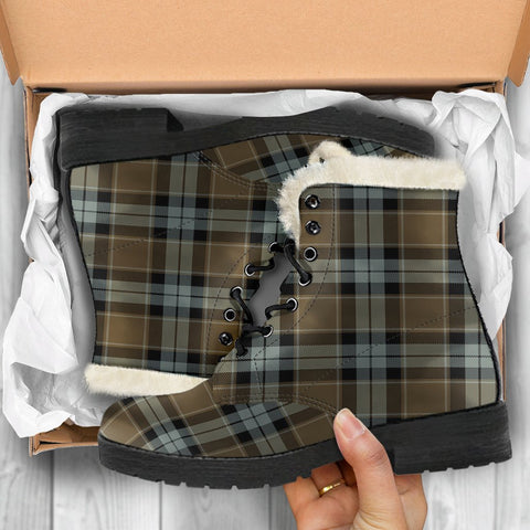 Graham Of Menteith Weathered Tartan Shoes