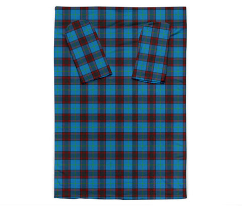 Home Ancient Tartan Clans Sleeve Blanket K6