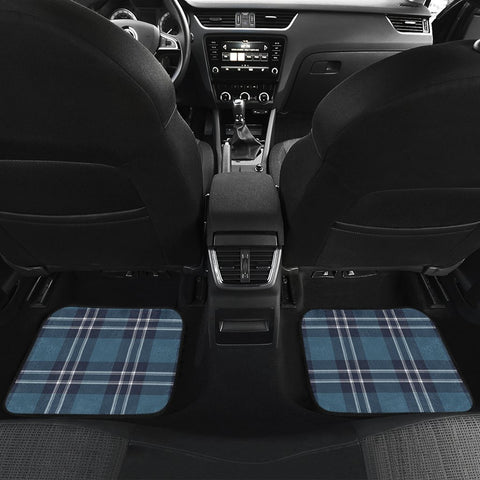 Earl Of St Andrews Tartan Car Floor Mat 4 Pieces K7