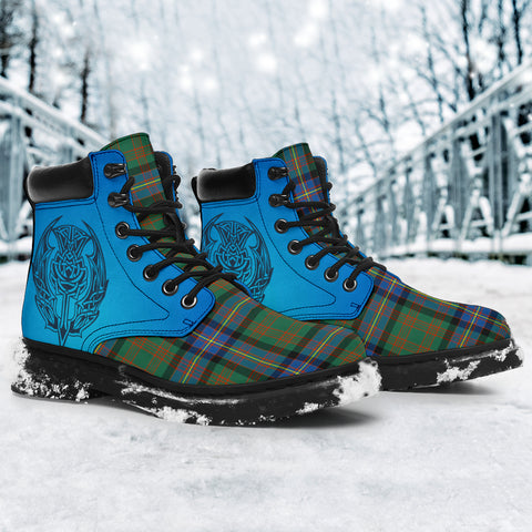 Image of Cochrane Ancient Tartan All-Season Boots - Celtic Thistle TH8