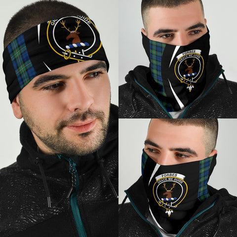 Forbes Ancient Tartan Bandana Circle Hj4