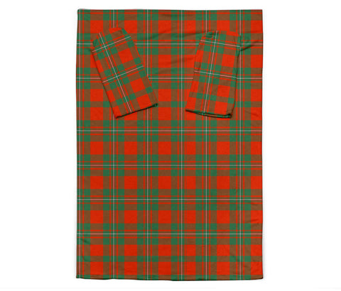 Image of MacGregor Ancient Tartan Clans Sleeve Blanket K6