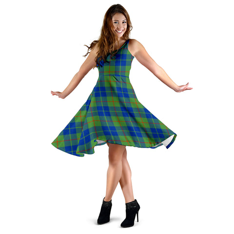 Barclay Hunting Ancient Tartan Dress