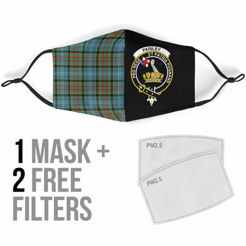 Paisley District  Tartan Mouth Mask The Half Th88