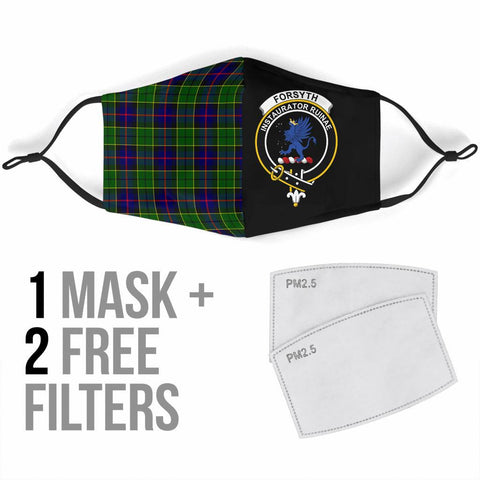Image of Forsyth Modern  Tartan Mouth Mask The Half Th88