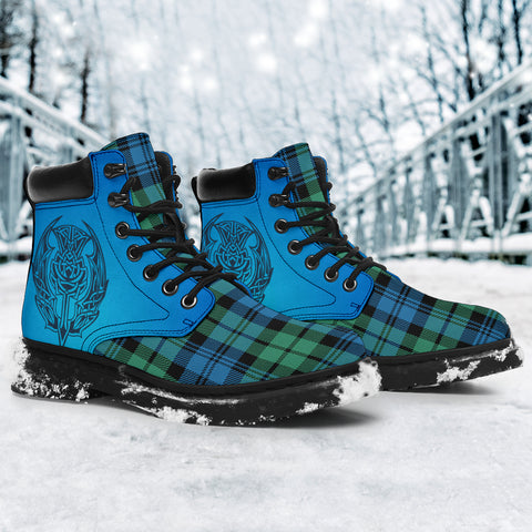 Campbell Ancient 01 Tartan All-Season Boots - Celtic Thistle TH8