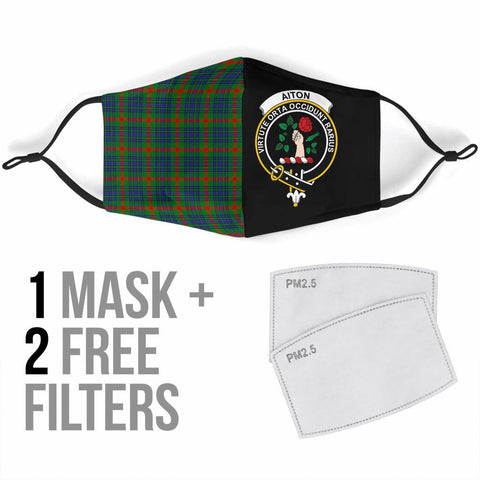 Aiton  Tartan Mouth Mask The Half Th88