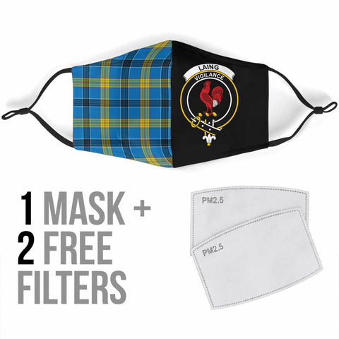 Image of Laing  Tartan Mouth Mask The Half Th88