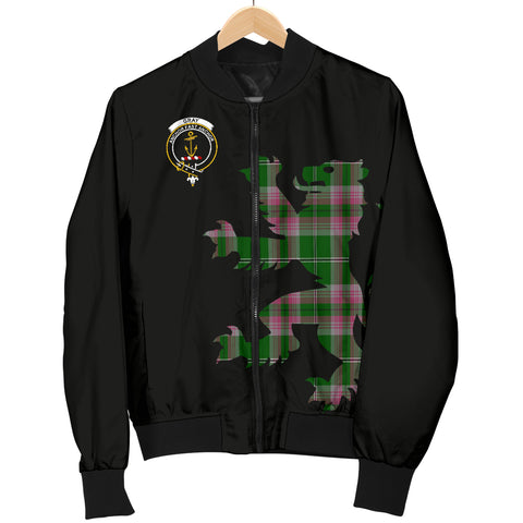 Gray Tartan Lion & Thistle Men Jacket TH8