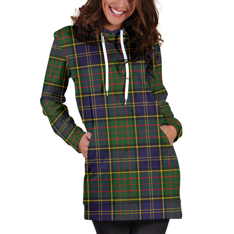 Image of MacMillan Hunting Modern Tartan Hoodie Dress HJ4