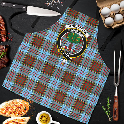 Anderson Ancient Tartan Clan Crest Apron HJ4