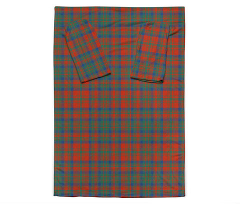 Matheson Ancient Tartan Clans Sleeve Blanket K6