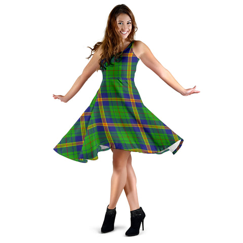 New Mexico Tartan Dress