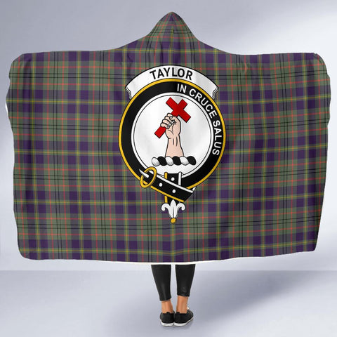 Image of Taylor Clans Tartan Hooded Blanket - BN
